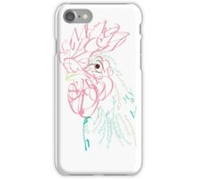 Rooster Typography iPhone Case/Skin