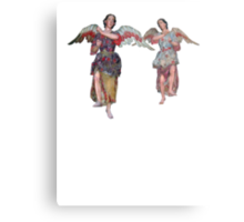 2 little angels to watch over you Metal Print