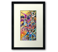 Carnivale in Taormina 02 Framed Print