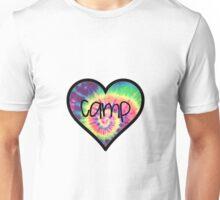 Camp Tiedye Heart Unisex T-Shirt