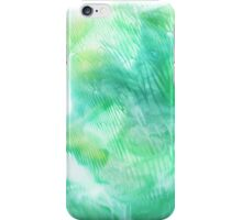 Abstract Print - Sea Glass iPhone Case/Skin