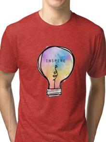 Inspire Lightbulb Tri-blend T-Shirt
