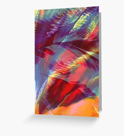 Canopy - Abstract Print  Greeting Card