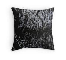 Line Art The Scratch no. 4 Throw Pillow