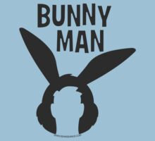 "Official ""Bunny Man"" Logo Tshirt by seanseamus"