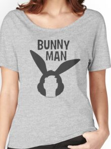 """Official """"Bunny Man"""" Logo Tshirt Women's Relaxed Fit T-Shirt"""
