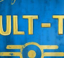 Property of Vault tec Sticker