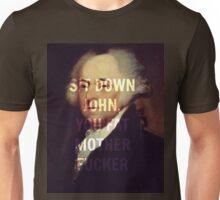 Adam's Administration Lyric-Hamilton Unisex T-Shirt