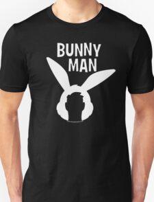 "Official ""Bunny Man"" Logo Tshirt in White T-Shirt"