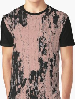 Grunge Pink and Black abstraction Graphic T-Shirt