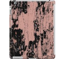 Grunge Pink and Black abstraction iPad Case/Skin
