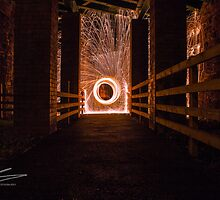 At the end of the tunnel by Robphotograph