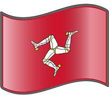 Waving Flag of Isle of Man by abbeyz71