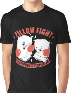 pillow fight feather weight division Graphic T-Shirt
