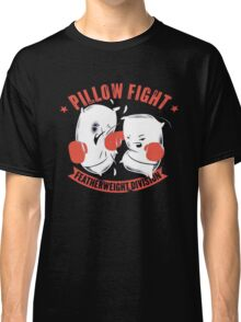 pillow fight feather weight division Classic T-Shirt