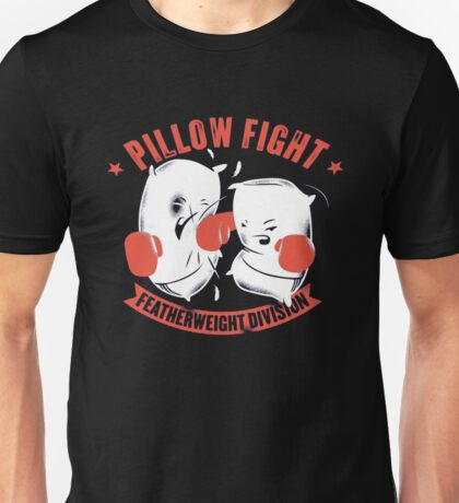 pillow fight feather weight division Unisex T-Shirt