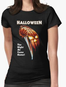 Women's Halloween Movie Artwork T-shirt