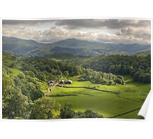 Tilberthwaite, The Lake District Poster