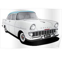 Holden EK Special Sedan - Snowcrest White Poster