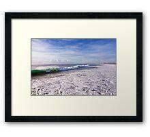 Surf to City Framed Print