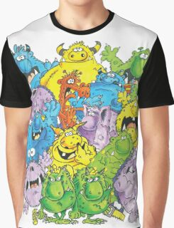 Real 'lil' Monsters Graphic T-Shirt