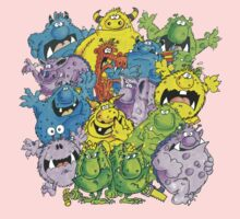 Real 'lil' Monsters One Piece - Long Sleeve