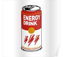 Campbell's energy drink Poster