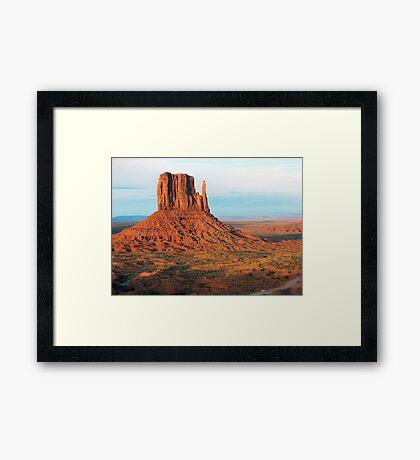 West Mitten Beauty Framed Print