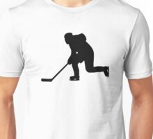 Hockey player Unisex T-Shirt