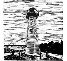 Cleveland Lighthouse Photographic Print