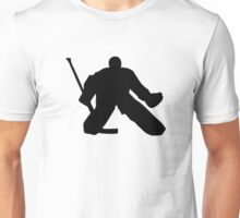 Hockey goalie Unisex T-Shirt