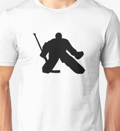 Hockey goalie Unisex T-Shirt