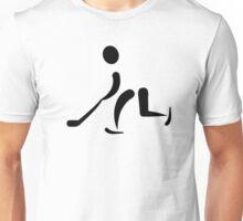 Hockey Player icon Unisex T-Shirt