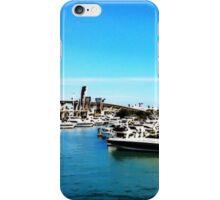 """Where The Boats Sleep"" Photo / Digital Painting  iPhone Case/Skin"