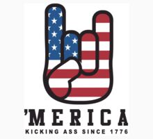 4th of July Tank Top - Merica Kids Tee