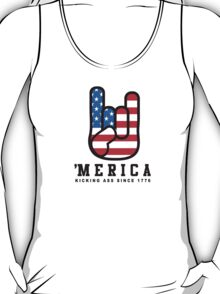 4th of July Tank Top - Merica T-Shirt