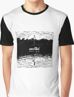 On the way to Macleay Graphic T-Shirt