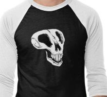 Spooky Skull Men's Baseball ¾ T-Shirt