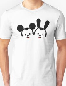 Mouse and Rabbit Unisex T-Shirt