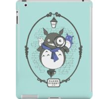 Totoro Holmes iPad Case/Skin