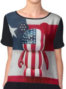 Mickey USA Chiffon Top