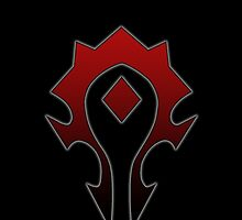 WoW - Horde Symbol by ManskerDesigns