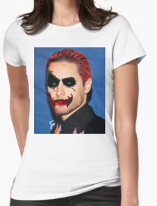 jared leto minimalis Womens Fitted T-Shirt