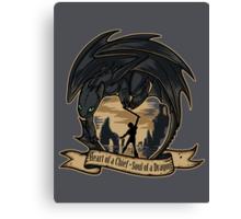 Soul of a Dragon Canvas Print