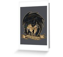 Soul of a Dragon Greeting Card