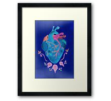 Buenas noches corazon Framed Print