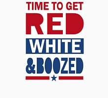 4th of July Tank Top - Red White and Boozed Tank Top