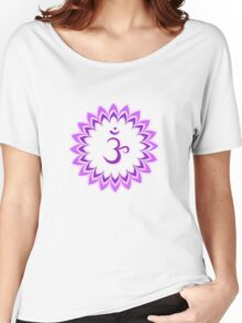 Om or Aum Symbol of wisdom and meditation Women's Relaxed Fit T-Shirt