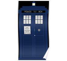 Doctor Who's Tardis Poster
