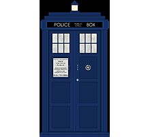 Doctor Who's Tardis Photographic Print